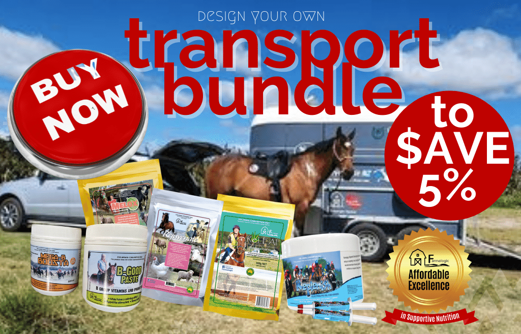 Design your own transport bundle for supportive nutrition and $AVE 5%